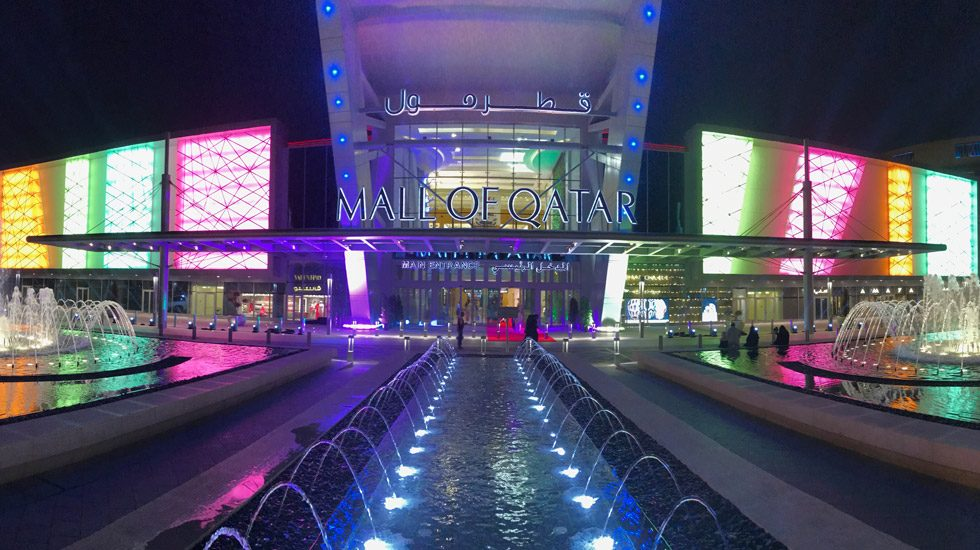 Grand Opening der Mall of Qatar in Doha / Katar